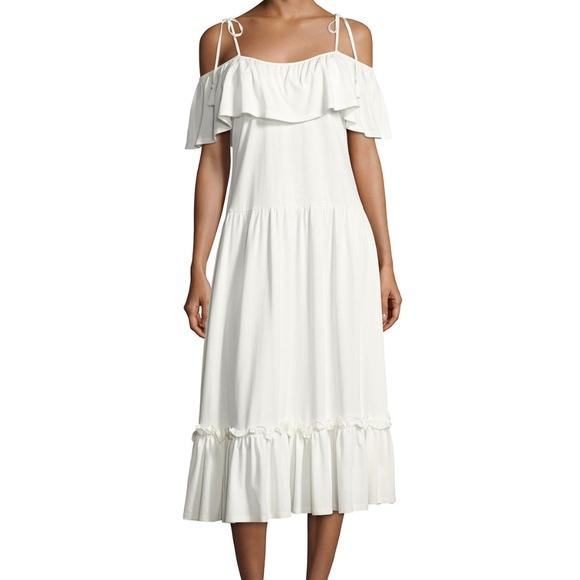 Rebecca Minkoff Dresses & Skirts - Rebecca Minkoff Mojave Cold Shoulder Maxi Dress